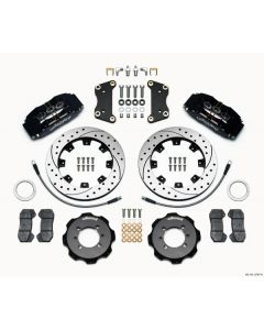Wilwood 140-12767-D Dynapro 6 Big Brake Kit Front Fiat 500 Abarth