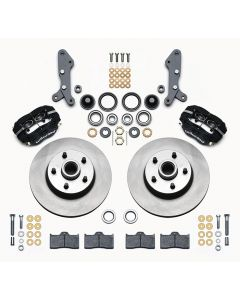 "Wilwood Disc Brakes 140-13653 Dynalite 11.3"" Rotors 4 Piston 1957-68 Ford"