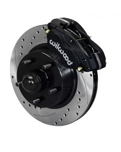 "Wilwood Disc Brakes 140-13653-D Dynalite 11.3"" Rotors 4 Piston 1957-68 Ford"