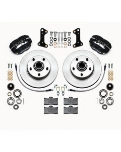 "Wilwood Disc Brakes 140-15272 Dynalite 11"" Rotors 4 Piston 1964-74"