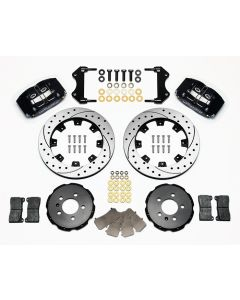 "Wilwood Disc Brakes 140-8276-D Audi/VW 12.19"" Rotors 4 Piston 1999-06"