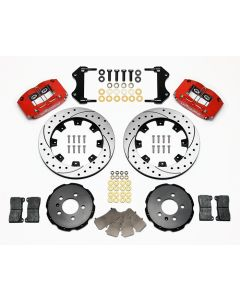 "Wilwood Disc Brakes 140-8276-DR Audi/VW 12.19"" Rotors 4 Piston 1999-06"