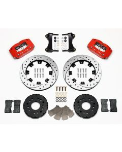 "Wilwood Disc Brakes 140-8292-DR Dynalite 12.19"" Rotors 4 Piston 1995-00"