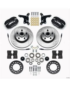 Wilwood Disc Brakes 140-12922 Ford 1954-56 Front Disc Brake Kit