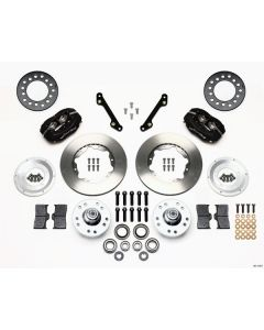 Wilwood Disc Brakes 140-11007 Forged Dynalite Pro Series Front GM 1971-78