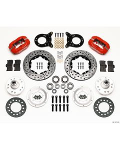 Wilwood 140-11073-DR Ford 1970-1974 Front Brake Kit For 14 Inch Wheel