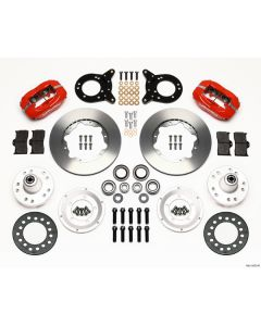 Wilwood 140-11073-R Ford 1970-1974 Front Brake Kit For 14 Inch Wheel