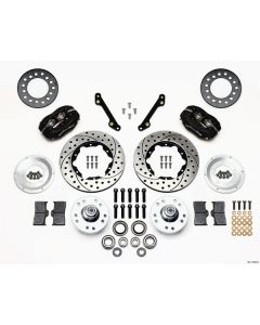 Wilwood Disc Brakes 140-11008-D Forged Dynalite 1979-86 Front Brake Kit