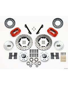 Wilwood Disc Brakes 140-11008-DR Forged Dynalite 1979-86 Front Brake Kit