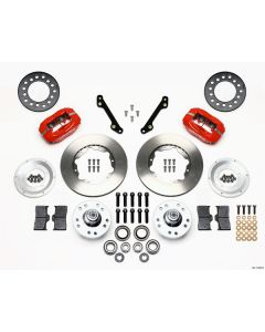 Wilwood Disc Brakes 140-11008-R Forged Dynalite 1979-86 Front Brake Kit