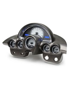 Gauge will be Satin Alloy Background Blue Light.