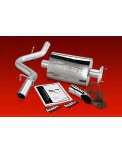 Banks Power 51313 Exhaust System Cat-Back Jeep Wrangler 2000-03