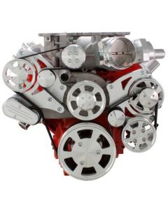 CVF Racing Chevy LSA and LS9 Serpentine Kit- PS, Alt