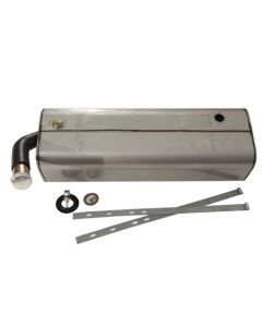 Tanks Inc. 34STD-SS Chevy 1934-35 Stainless Steel Fuel Tank
