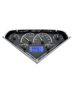 Dakota Digital VHX-55C-PU-K-B Chevy 1955-1959 Pickup Gauge System