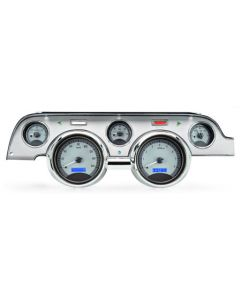 Gauge will satin alloy red