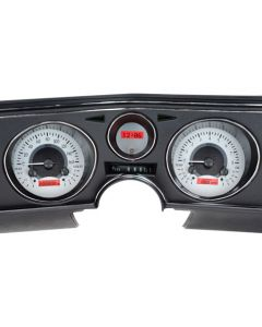 *Gauge is Satin Alloy Red. Gauge will be Satin Alloy Blue*