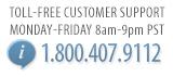 Free calls: 1.800.407.9112